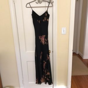 Long flowy Black Dress